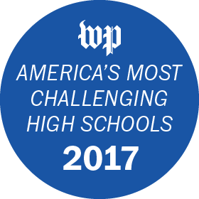 America's Most Challenging High School Badge 2