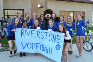 Girls Volleyball Pep Rally