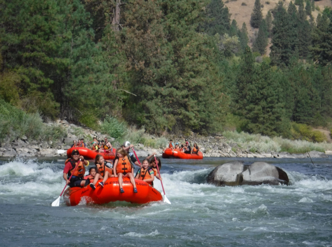 Rafting the Payette River